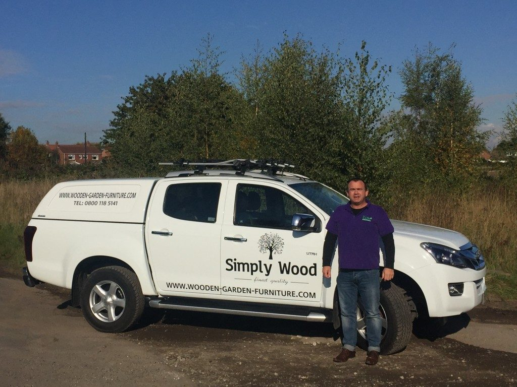 Ian Thirsk at Simply Wood, LawnGrassSeed.co.uk